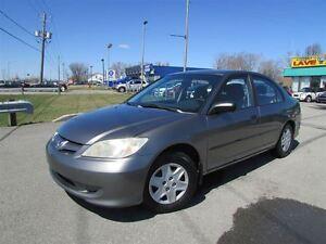 2005 Honda Civic SE MANUELLE A/C TRES ECONOMIQUE A SUPER PRIX!!