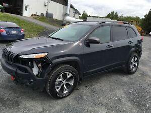 2016 Jeep Cherokee EDITION TRAILHAWKS TOUT ÉQUIPÉE AVEC GPS