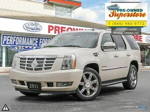 2011 Cadillac Escalade ***NAV, woodgrain, sunroof**