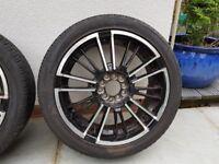 Set of 4 Wolfrace Street Hustle Alloy Wheels (17inch, 5 stud)