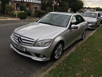 2010 Mercedes C200 CDI AMG Sport Full Leather Very Good Condition Low Miles