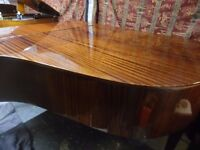 grand piano by august forster 6ft --summer sale price--