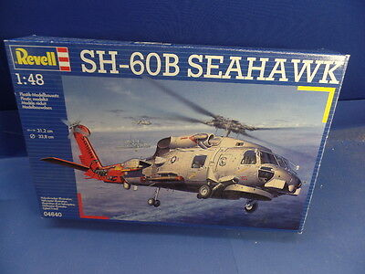 """1/48 Revell (2008):Navy- Helicopter SH-60 B """"Seahawk""""(2 Decal-Optionen)Scorpion"""