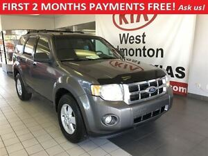 2010 Ford Escape XLT FWD I4, FIRST 2 MONTHS PAYMENTS FREE!!