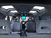 REAL JAPANESE 4X4 MITSUBISHI DIESEL-LUXURY MPV-VERY RARE EXAMPLE-6 SEATS-DVD&TV-FULL SERVICE