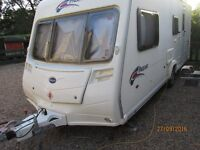 Bailey Pageant series 6 /2007 / 4 berth with Motor Mover