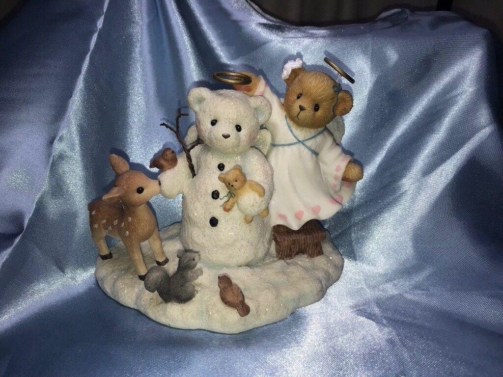 5 x Christmas cherished teddies