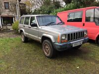 Jeep Cherokee xj 2.5 Td open to offers