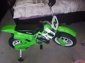 Kids remote control motorbike **£40**