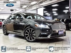 2017 Lincoln Continental Reserve | AWD | 400 hp | Pano Roof | SY