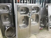 Good Quality reclaimed stainless steel sinks see photos