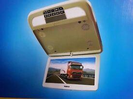 """12"""" car van bus Flip down monitor + remote control"""