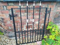 Black Iron-garden gate