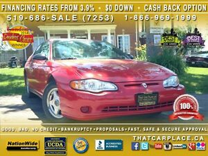 2005 Chevrolet Monte Carlo LS - LOW KILOMETERS! Great Condition