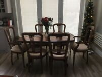 Complete dining room furniture .. SHERRY ROSSMORE ' Opera'