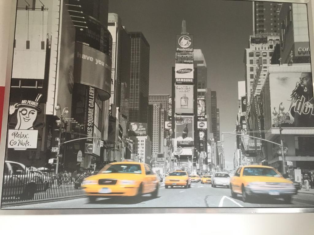 Times Square picture NYC ikea canvas