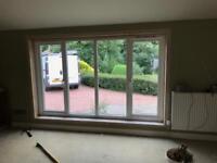 Timber Double glazed window,