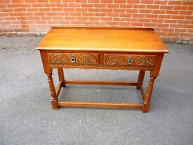 OLD CHARM CONSOLE TABLE, AS NEW CONDITION