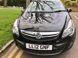 Vauxhall corsa cdti ecoFlex stop/start 93 2012 low mileage one owner fsh 2 keys ZERO ROAD TAX