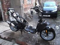 Peugeot speedfight 3. 2010 reg. Spares or repair. SELLING AS A WHOLE BIKE NOT SPLITTING FOR PARTS.