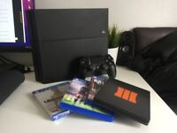 PS4 + Controller & 4 Games
