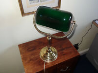 Retro Classic Banker's Desk/Table Lamp