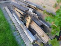 Wood ( from decking )