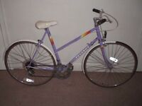 "Ladies/Womens Classic/Vintage/Retro Peugeot Premiere 22.5"" Commuter/Town/Hybrid Bike (will deliver)"