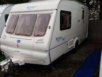2003 Bailey Ranger 460 2 Berth End Washroom Caravan , Motor Mover