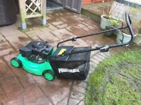 Powerbase 40cm Petrol Push Lawnmower