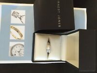 Jewellery - 1 carat diamond, platinum ring for sale, brand new, boxed, untouched, beautiful ring