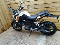 Ktm 125 duke late Nov 2016 abs model