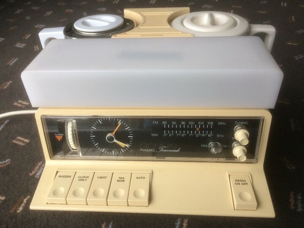 Vintage 1970s Collectible GOBLIN TEASMADE Tea Maker or Coffee Maker,  Model870 with Radio, Alarm etc  | in Cyncoed, Cardiff | Gumtree