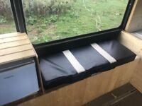 Mini bus for sale got no mot in needs a little tlc got fridge log burner and double bed