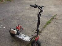 for sale mini scooter 49cc good engine start and run