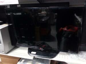 LG 32 inch TV. We sell used TVs. (#34571)