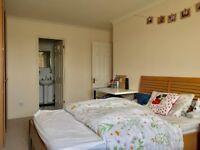 Spare double en-suite bedroom in London