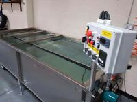 WTP dipping and washing device 2in1 Working area 250 x 120 cm.