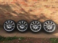 "BMW M style 19"" alloys e36,e46..."