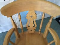 Kitchen chairs (carvers)