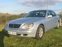 L👁👁K REAL NICE TIDY EXAMPLE OF THIS S CLASS MERCEDES WITH ALL THE TRIMMINGS TWO OWNERS FULL MOT