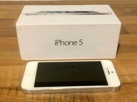 iPhone 5 16GB Unlocked - White & Silver