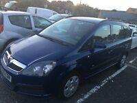 2006/56 Vauxhall Zafira 1.6 full mot only £899
