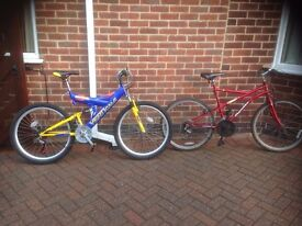 2 adult Cycles for sale