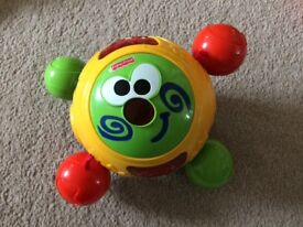 Fisher Price roll around learn to crawl ball