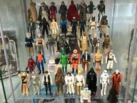 WANTED : 70s/80s Toys - STAR WARS, HE MAN, THUNDERCATS, STARCOM, ACTION FORCE, TURTLES ETC