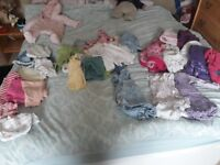 3 to 6 months girls clothes bundle