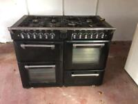 Gas & electric range style cooker