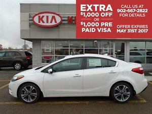 2016 Kia Forte EX with SUNROOF, ONLY $68* WEEKLY ON THE ROAD