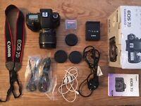 Canon EOS 7D 18.0MP Digital SLR Camera - Black (Kit w/ EF-S IS USM 15-85mm Lens)